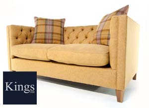 The Battersea Large Sofa in Fabric 3