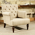 Tetrad Upholstery Eversham Buttoned Back Chair