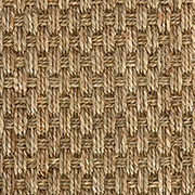 Crucial Trading Seagrass Fine Basket Weave Natural