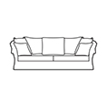 David Gundry Broadway Major Knole Sofa