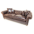 Duresta Connaught Chesterfield Sofa In Clyde Chestnut Leather 2