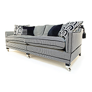 Duresta Trafalgar 3 Seater Knole Sofa in Allure Noir SOLD