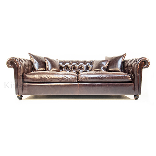 Duresta Connaught Grand Chesterfield Sofa 70f