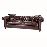 Duresta Upholstery Connaught Medium Sofa in Leather