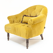 Alexander and James Imogen Button Back Chair