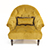Alexander and James Imogen Button Back Chair 4