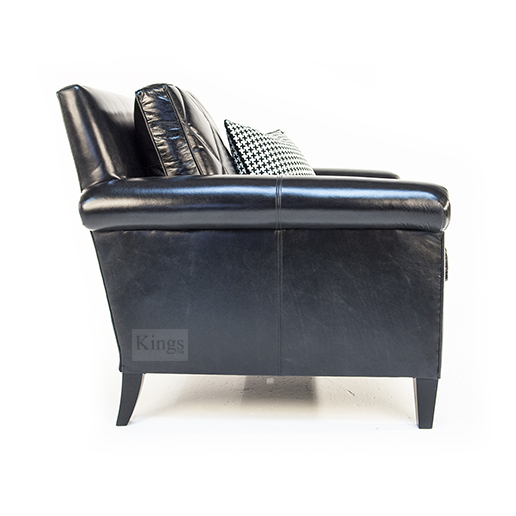 Duresta Gabrielle Chair in Nero Leather 2