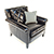 Duresta Gabrielle Chair in Nero Leather 4