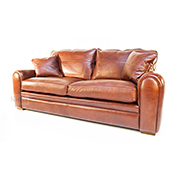 Duresta Spitfire 3 Seater in Pallazzo Brandy Leather