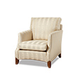 Duresta Domus Sutherland Chair, refined luxury and elegance, hand upholstered by time served craftsmen.