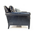 Duresta Gabrielle Sofa and Chair in Black Leather 2