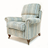 Duresta Southsea Sofa and Two Chair in Stripe Fabric 2