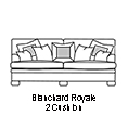 Duresta Blanchard Royale 2 Cushion Version