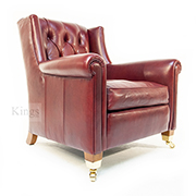 Duresta Upholstery Sunday Chair in Leather