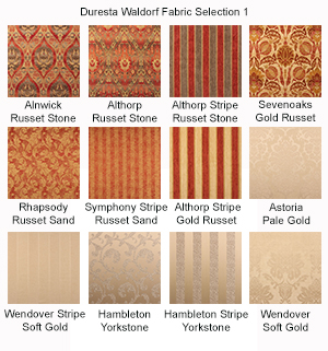 Duresta Waldorf Fabric Samples 1