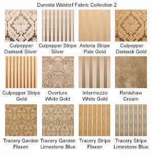 Duresta Waldorf Fabric Selection 2