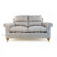 Duresta Southsea Small Sofa and Chair in Oscar Silver Birch Fabric