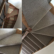 A Simple Inexpensive Cord Carpet Expertly Fitted By Andrew. What A Transformation.