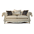 Gascoigne Designs Valentino Sofa with Tuscany Chair 3