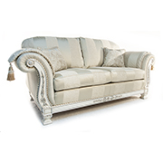 Gascoigne Designs Medici 3.5 and 2.5 Seater Sofas with Chair and Ottoman