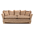 Gascoigne Designs Bellagio Three Seater Knole Sofa Fabric E