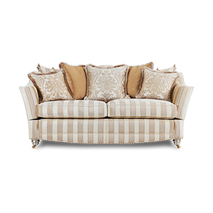Gascoigne Designs Bellagio Knole Sofa Two And A Half Seater Fabric D