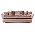 Gascoigne Designs Bellagio Knole Sofa Three Seater Fabric H