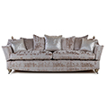 Gascoigne Designs Bellagio Three Seater Knole Sofa Fabric I