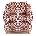 Gascoigne Designs Bellagio Ladies Chair Fabric F