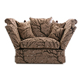 Gascoigne Designs Emperor Knole One And A Half Seater Knole Sofa