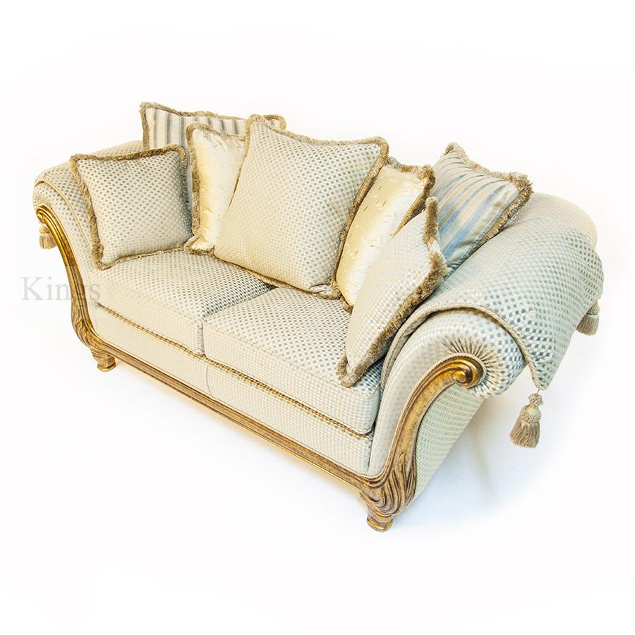 Gascoigne Designs Victoria Two And A Half Seater Sofa Kings