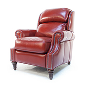 Art Forma Leather Recliner Chair in Red