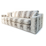 Gascoigne Designs 5th Avenue 4 Seater Sofa with 2 Foot Stools