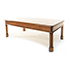 Iain James Canted Coffee Table in Mahogany nh