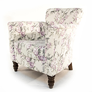Henderson Russell Lottie Chair in Floral Fabric