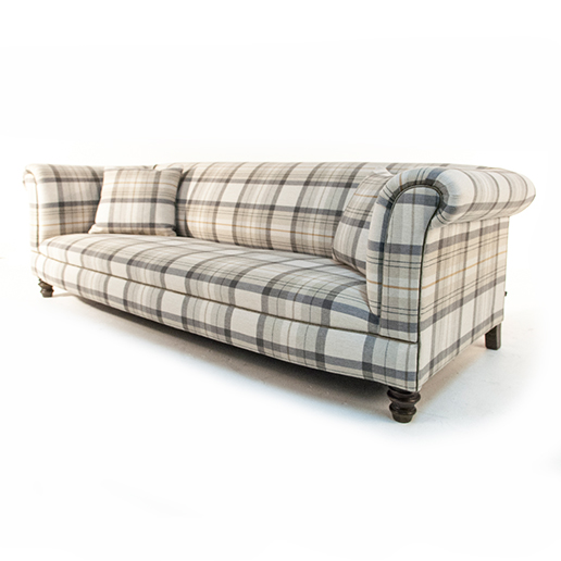 Henderson Russell Valentine Sofa in Wool Tweed