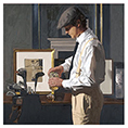Iain Faulkner - a Good Round (Framed) - Limited Edition Artworks at Kings Interiors Nottingham