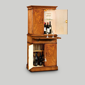 Iain James 001 AMC63 Walnut Drinks Cabinet 2