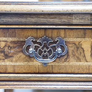 Iain James Walnut Cabinet Furniture Solid Carcase and Dovetails and Handles