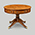 Iain James Furniture AMC277 Walnut Round Table