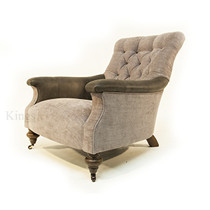 John Sankey Slipper Chair in Apollinaire Dove