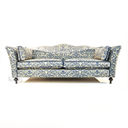 John Sankey Wolesley Sofa in Legacy Bermuda Fabric SOLD