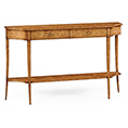 Jonathan Charles Select Collection Luxe Large Biedermeier Console Table QS 494192 / Jonathan Charles Fine Furniture at Kings always for the best service and prices