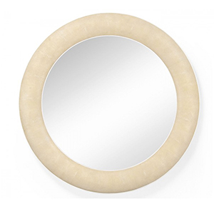 Jonathan Charles Select Collection Luxe Toned Faux Shagreen Mirror ST 494250 / Jonathan Charles Fine Furniture at Kings always for the best service and prices