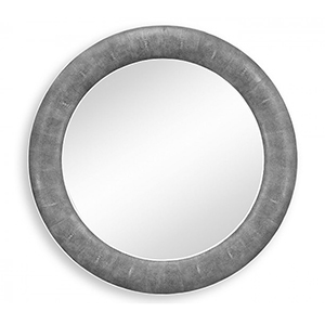 Jonathan Charles Select Collection Luxe Toned Faux Shagreen Mirror ST 494257 / Jonathan Charles Fine Furniture at Kings always for the best service and prices