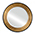 Jonathan Charles Select Collection Luxe Large Border Circular Recessed Mirror QS 494565 / Jonathan Charles Fine Furniture at Kings always for the best service and prices