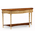 Jonathan Charles Select Collection Versailles Gilt Console w/ Shelf QS 493187 / 493208 / Jonathan Charles Fine Furniture at Kings always for the best service and prices