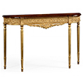 Jonathan Charles Select Collection Louis IV Style Narrow Gilt Console QS 493239 / Jonathan Charles Fine Furniture at Kings always for the best service and prices