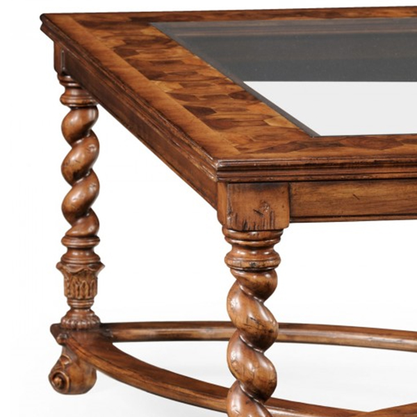 Superieur Jonathan Charles Select Collection Windsor Square Oyster Coffee Table QS  492392 / Jonathan Charles Fine Furniture