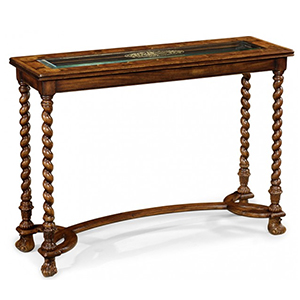 Jonathan Charles Select Collection Windsor Eglomise Console Table QS 493498 / Jonathan Charles Fine Furniture at Kings always for the best service and prices